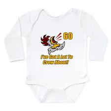 60th Birthday Long Sleeve Infant Bodysuit
