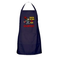60th Birthday Apron (dark)