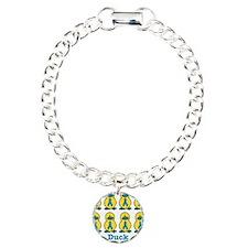 Ovarian Cancer Awareness Ribb Bracelet