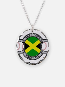 Jamaica Baseball Necklace