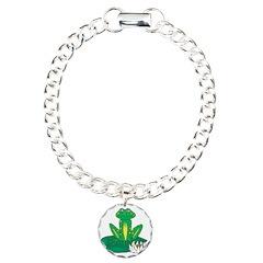 Happy Frog on Lily Pad Bracelet