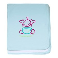 Cool Cloth diaper baby blanket