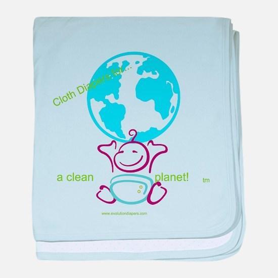 Unique Cloth diaper baby blanket