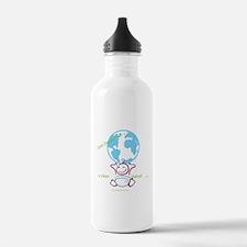 Unique Cloth diapers Water Bottle