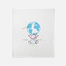 Unique Cloth diaper Throw Blanket