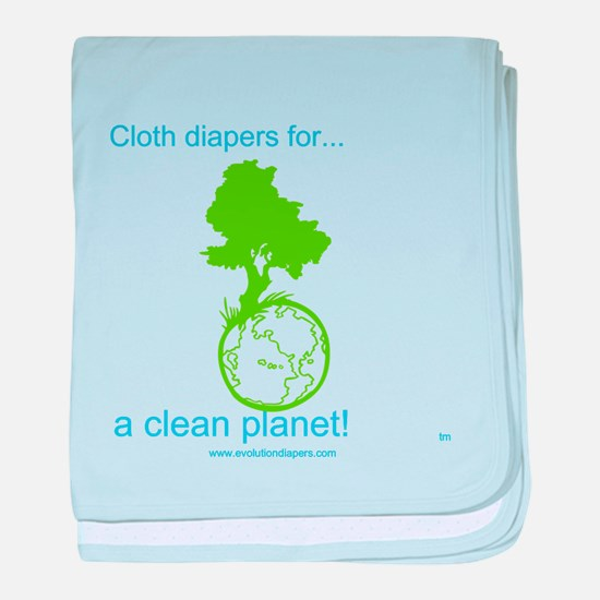 Funny Cloth diaper baby blanket