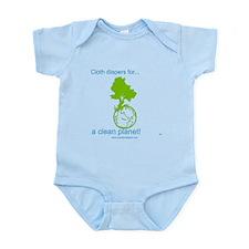 Funny Cloth diaper Infant Bodysuit