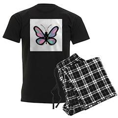 Pretty Pastel Butterfly Pajamas