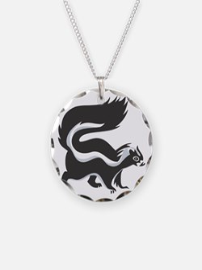 Skunk Necklace