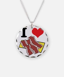 I Heart (Love) Bacon Necklace