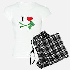I Heart (Love) Celery Pajamas