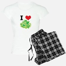 I Heart (Love) Lettuce Pajamas