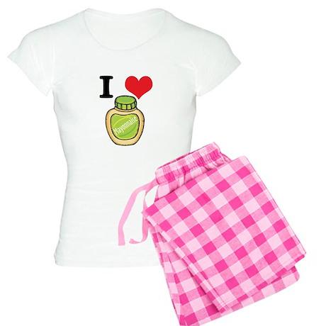 I Heart (Love) Mayonnaise (Ma Women's Light Pajama
