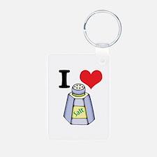 I Heart (Love) Salt Keychains
