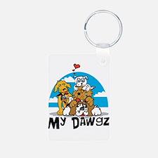 My Dawgz (Dogs) Keychains