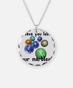 Lost Your Marbles Necklace