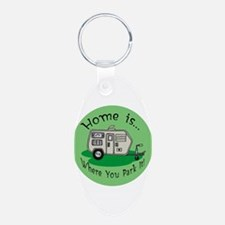 Trailer Park Home Keychains