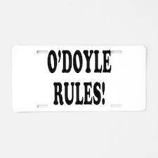 O'Doyle Rules! Aluminum License Plate