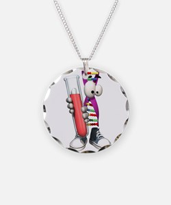 Funny DNA Testing Necklace