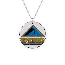 Dyno Mite Rock Climbing Graph Necklace