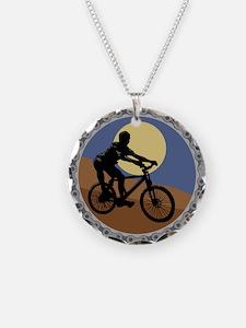 Mountain Bike Chain Design Necklace