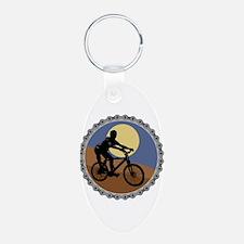 Mountain Bike Chain Design Keychains