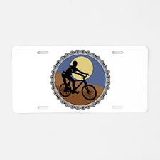 Mountain Bike Chain Design Aluminum License Plate