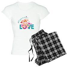 All You Need is Love Cupid De Pajamas