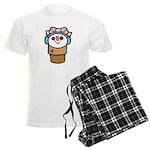 Cute Little Girl Snow Cone Men's Light Pajamas