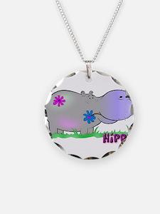 Hippie Hippo Necklace