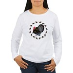 Turkey Circle Women's Long Sleeve T-Shirt