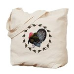 Turkey Circle Tote Bag