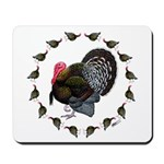 Turkey Circle Mousepad