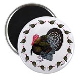 Turkey Circle Magnet