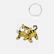 Goofy Baby Tiger Keychains