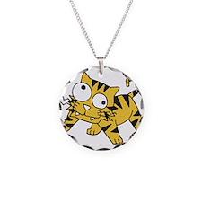 Goofy Baby Tiger Necklace