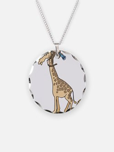 Silly Monkey & Giraffe Necklace