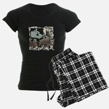 Mommy & Baby Canadian Boars Pajamas