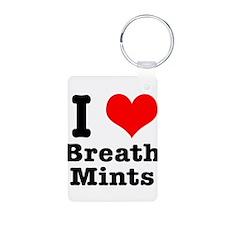 I Heart (Love) Breath Mints Keychains