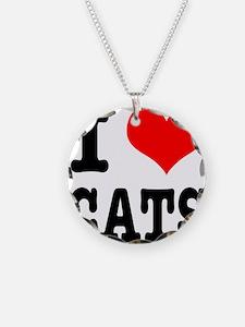 I Heart (Love) Cats Necklace