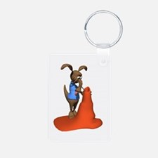Anteater Hunting Ant Hill Keychains