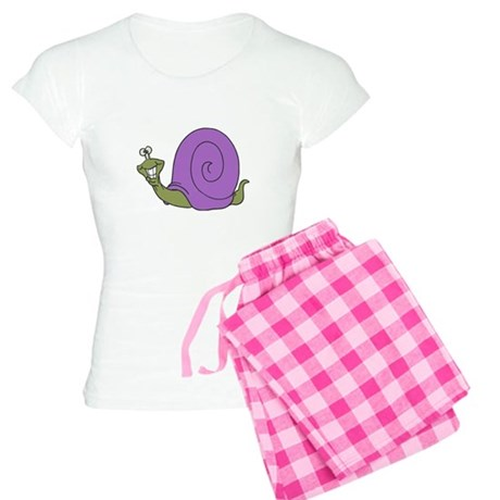 Happy Goofy Snail Women's Light Pajamas