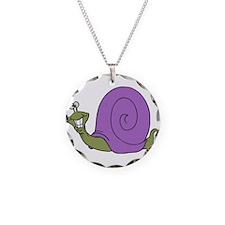 Happy Goofy Snail Necklace