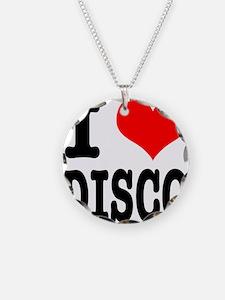 I Heart (Love) Disco Necklace