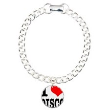 I Heart (Love) Disco Charm Bracelet, One Charm