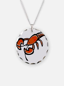 Cute Cartoon Lobster Necklace