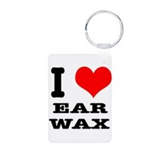 I Heart (Love) Ear Wax Keychains
