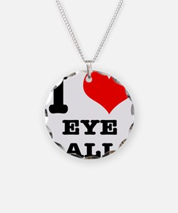 I Heart (Love) Eyeballs Necklace