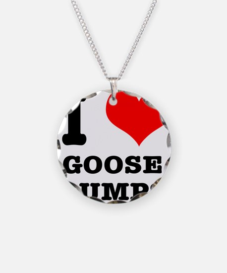 I Heart (Love) Goose Bumps Necklace