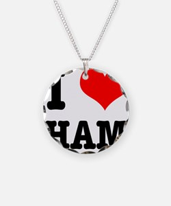 I Heart (Love) Ham Necklace
